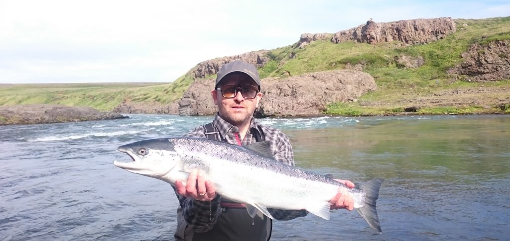 Salmon fishing in Iceland is a great adventure