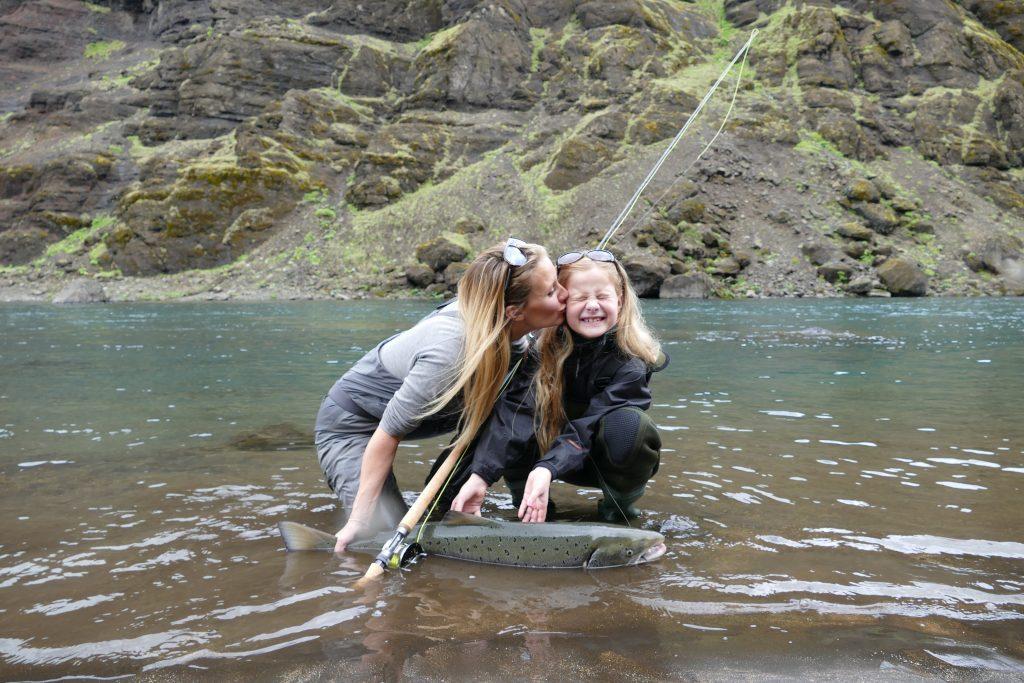 Salmon fishing in Iceland, Stora Laxa