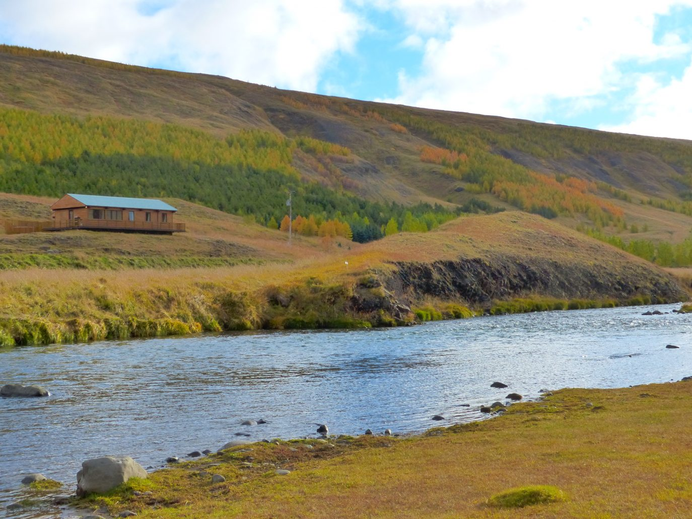 Natural Jacuzzi Iceland.Svarta River Up North Iceland Lax A Angling Club